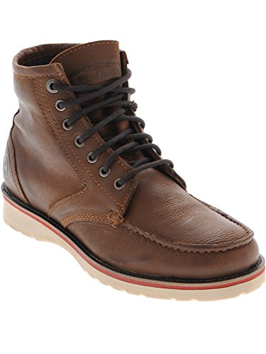 West Coast Choppers Jesse James Cognac Sturdy Boots (US 8, Brown) (Jesse James West Coast Choppers)