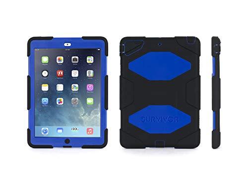 Griffin Survivor for iPad Air, Black/Blue