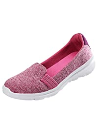 Jesper Women Sprot Loafers Soft Running Slip-Ons Shoes Fashion Solid Comfortable Shallow Mouth Shoes