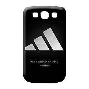 samsung galaxy s3 Heavy-duty Anti-scratch Scratch-proof Protection Cases Covers phone back shells adidas famous top?brand logo