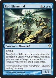 Magic: the Gathering - Roil Elemental (62) - ()