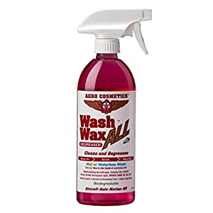Wet or Waterless Wheel, Tire, Engine, Cleaner Degreaser, Black Streak Remover, Aircraft Exhaust Soot Remover, for your Car, Aircraft, RV, Boat and Motorcycle, Wash Wax ALL Degreaser
