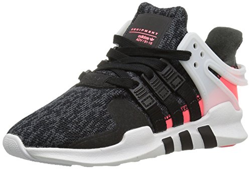 adidas Originals Girls' EQT Support ADV C Sneaker, Black/Black/Turbo Fabric, 1 M US Little Kid by adidas Originals