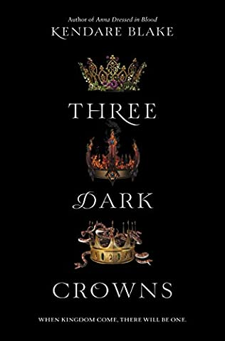 book cover of Three Dark Crowns