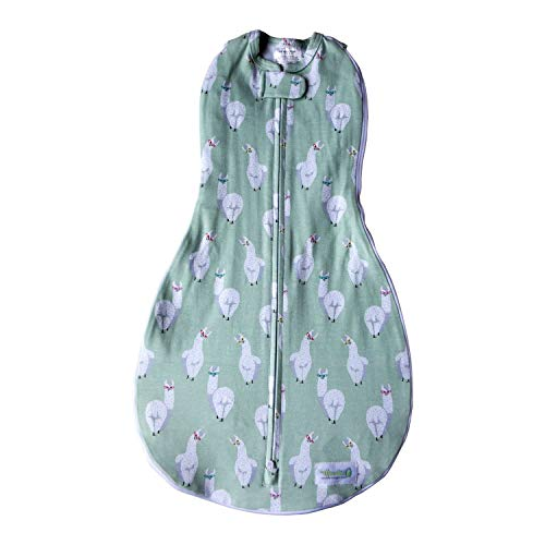 Woombie Grow With Me Swaddle 5 Stage Swaddle /& Sleeping Bag Newborn to 18 Months-0-18 Months-Llama