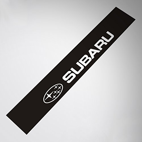 Demupai Front Windshield Banner Decal Vinyl Car Stickers for SUBARU impreza WRC (WRC Black Background)