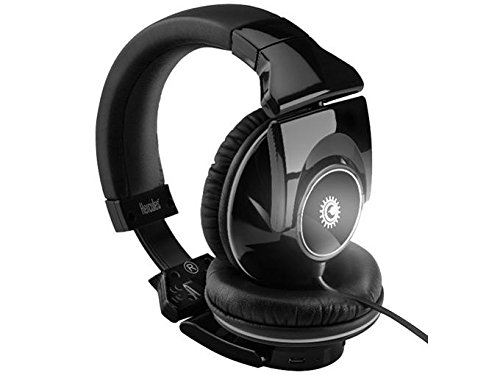 Hercules HDP DJ Light-Show ADV DJ Headphones with Light-Show Pulsing On the Beat 4780548