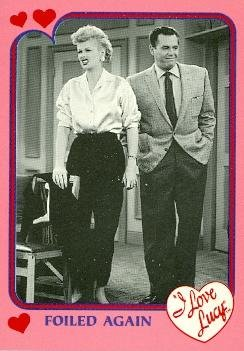 Lucille Ball Desi Arnaz trading card I Love Lucy 1991 Pacific #22