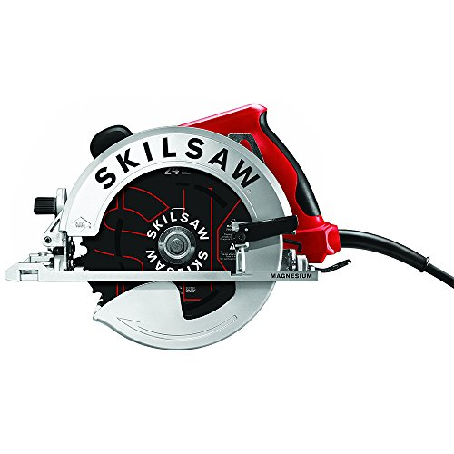 SKILSAW SOUTHPAW SPT67M8-01 15 Amp 7-1/4 In. Magnesium Left Blade Sidewinder Circular Saw (Adjustable Circular Saw)