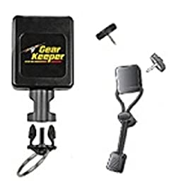 Gear Keeper Firefighter Rescue Right-Angle Flashlight Retractor Lanyard Emergency Equipment Gear Authorized Dealer Full Warranty GSA Certified, RT3 4323