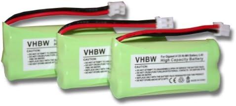vhbw 2X NiMH baterías 700mAh (2.4V) para teléfono Fijo inalámbrico Siemens Gigaset AL14H, AS14, AS140 y V30145-K1310-X359, V30145-K1310-X383.: Amazon.es: Electrónica