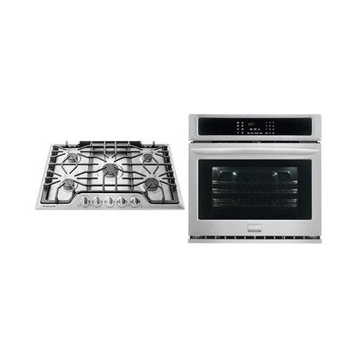 Cooktop Gas Convection - Frigidaire 2-Piece Kitchen Package with FGGC3047QS 30