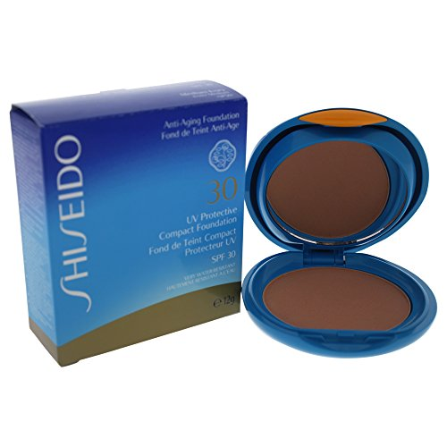 Shiseido UV Protective Compact Foundation SPF 30, No. Sp50 Medium Ivory, 0.42 Ounce ()