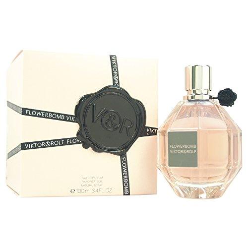 Flowerbomb par Viktor Rolf & pour femme, Eau de Parfum, 3,4 oz aérosol
