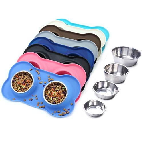 Vivaglory Dog Bowls