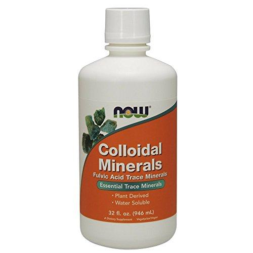 NOW Colloidal Minerals Liquid,32-Ounce