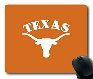 Texas Longhorns Football Rectangle Mouse Pad by eeMuse