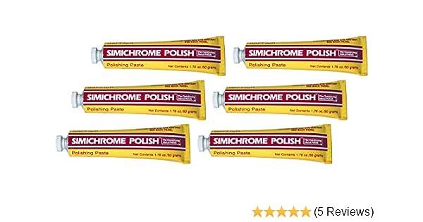 Simichrome 390050 All Metal Polish Tube 1.76 oz.