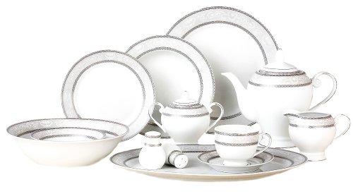 Lorenzo Sirena 57-Piece Dinnerware Set, Service for 8 -