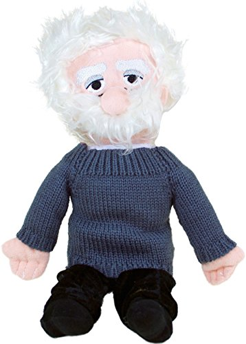 Albert Einstein Plush Doll - Little Thinkers by The Unemployed Philosophers Guild from The Unemployed Philosophers Guild