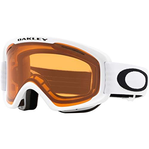 Oakley O Frame 2.0 Snow Goggle, Matte White, Medium, Persimmon Lens (Oakley Ski Goggles Frame O)