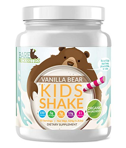 Bare Necessities Kids Protein Shake Mix. Nutritional Drink...