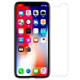 iEugen Screen Protector Compatible with Apple iPhone Xs Max (6.5 inch), 0.25mm Tempered Glass Screen Protector with Advanced Clarity [3D Touch] Work with Most Case 99% Touch Accurate Retail Package
