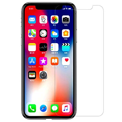 (iEugen Screen Protector Compatible with Apple iPhone Xs Max (6.5 inch), 0.25mm Tempered Glass Screen Protector with Advanced Clarity [3D Touch] Work with Most Case 99% Touch Accurate Retail Package)
