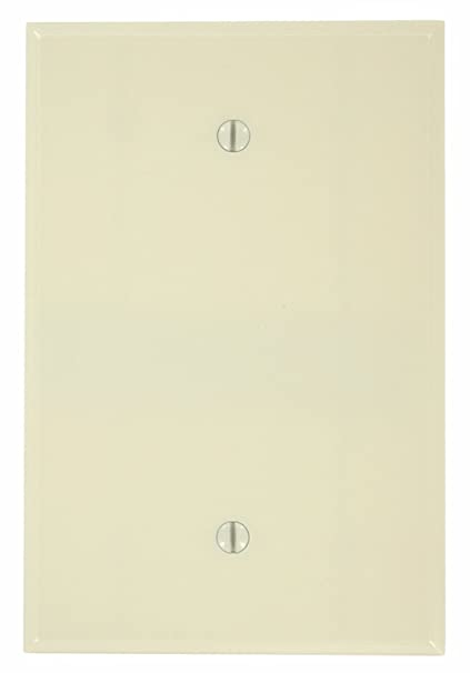 Leviton 86114 001 000 1 Blank Oversized Wall Plate 1 Gang 5 14 In