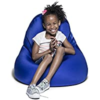 Jaxx Nimbus Spandex Bean Bag Chair for Kids, Royal Blue