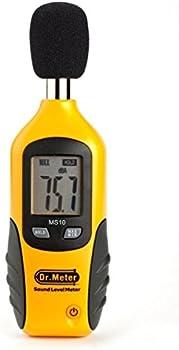 Dr.meter Digital Decibel Sound Level Meter Tester