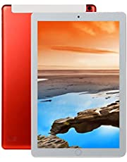 AKDSteel 10.1 inch 8+128GB 4G-LTE Tablet PC IPS HD Screen Dual Card Phone Call Tablet PC Red UK plug With Delicate Designed