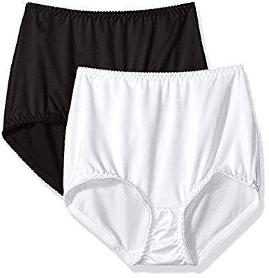 Vassarette Women's Undershapers 2-Pack Light Control Brief 40201