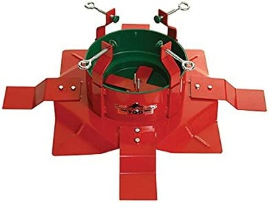 Heavy Duty Christmas Tree Stand.Santa S Solution Extreme Heavy Duty Steel Outdoor Christmas Tree Stand For Trees Up To 14 Tall
