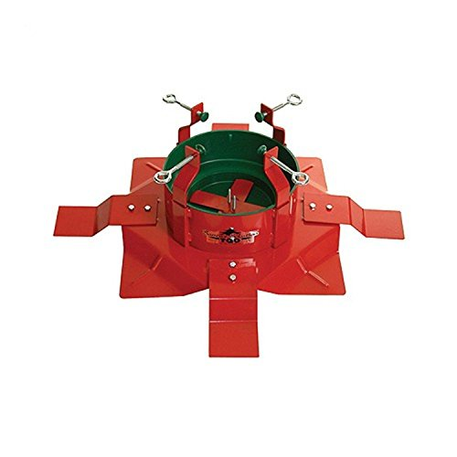Extreme Heavy Duty Steel Outdoor Christmas Tree Stand for Trees Up to 14' Tall by Santa's Solution (Image #1)