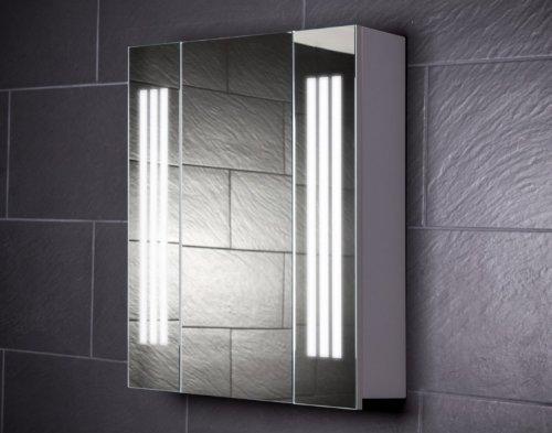 Galdem LOFT60 Spiegelschrank, holz, 60 x 70 x 15 cm, weiß