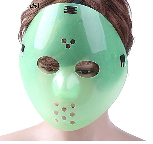 Hot Sale Horror Movie Hockey Mask Anonymous Scary Party Mask Halloween Cosplay (Viper Vampire Adult Mask)