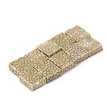 10x Miniature Resin Grey Stone Pavement Micro Landscape Bonsai Garden Decor