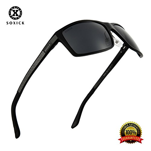 Men's Sunglasses Polarized Sports Glasses for Outdoor Driving Fishing Golf Cycling Running Baseball Unbreakable - Sunglasses Asian For