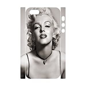 Cool Painting Marilyn Monroe Brand New 3D Cover Case for Iphone 5,5S,diy case cover case-345600