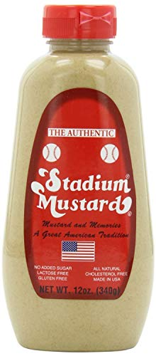 Stadium Mustard Squeeze, 12-ounce (2 Pack)