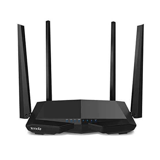 Tenda AC1200 Dual Band WiFi Router, High Speed Wireless Internet Router with Smart App, MU-MIMO for Home (AC6) 41ni2o4YDqL. SS555