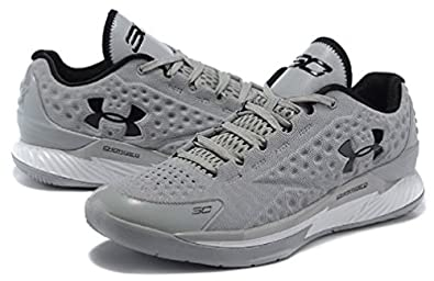 free shipping 890c8 f059b ... cheap under armour charged foam curry 1 low graphite metallic silver  black f75fe 36e74