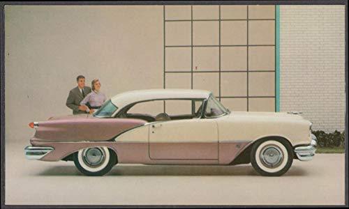 1956 Oldsmobile Super 88 Holiday Coupe dealer postcard