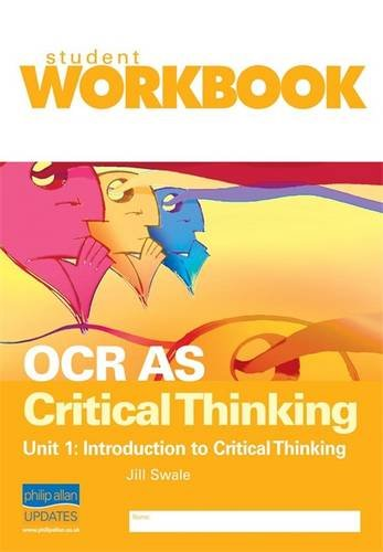 ocr critical thinking unit 3 revision Ocr as critical thinking is written by roy van den brink-budgen and jacquie thwaites roy is an experienced author, teacher and past examiner and a well-respected expert in this field jacquie is a senior examiner with vast experience of teaching, writing and examining critical thinking.