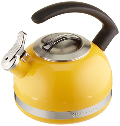 KitchenAid KTEN20CBIS 2.0-Quart Kettle with C Handle and Trim Band - Citrus Sunrise ()