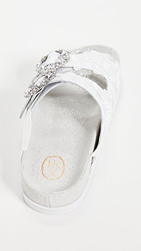 Ash Womens Uma Two Band Slides Wit