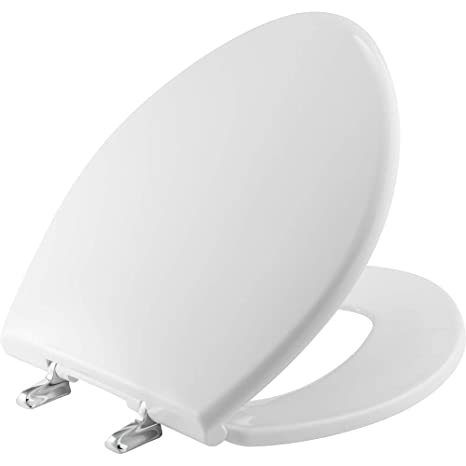 Astounding Bemis 1000Cpt Paramount Heavy Duty Oversized Closed Front Toilet Seat With 1 000 Lb Weight Limit Will Never Loosen Reduce Call Backs Pdpeps Interior Chair Design Pdpepsorg