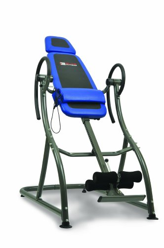 Elite Fitness Deluxe Massage Inversion Table