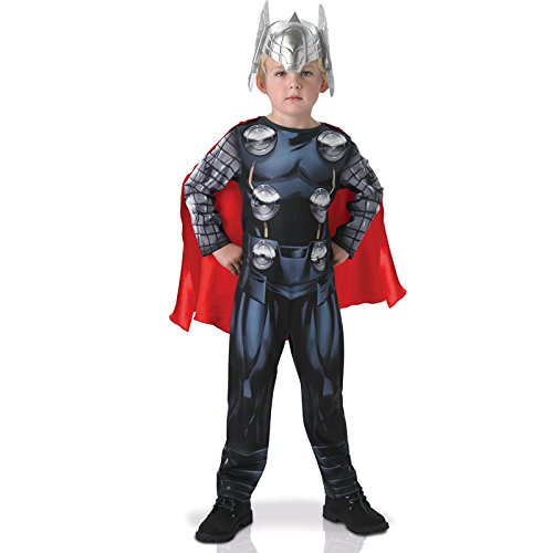 Marvel Avengers Assemble ~ Thor Classic (No Muscles) - Kids Costume New 2015 3 - 4 years -